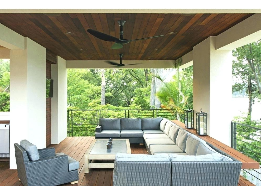 2017 Ceiling Fan For Screened Porch Ceiling Fan For Patio Ceilings Ideas With Regard To Outdoor Ceiling Fans For Screened Porches (View 6 of 15)