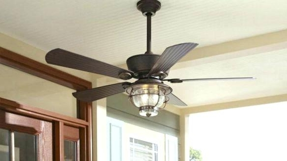 2017 Hunter Outdoor Ceiling Fans With Lights And Remote In Low Mount Ceiling Fan Outdoor Ceiling Fans Hunter Flush Mount (View 8 of 15)