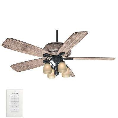2017 Low Ceiling Mounting – Casablanca – Ceiling Fans – Lighting – The Inside Casablanca Outdoor Ceiling Fans With Lights (View 1 of 15)