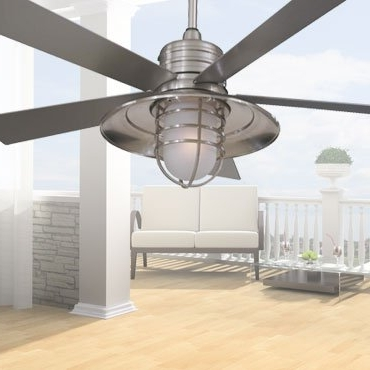 2017 Minka Outdoor Ceiling Fans With Lights Inside Minka Aire Ceiling Fans: Light Wave, Concept Ii, Artemis, New Era (View 11 of 15)