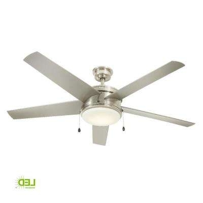 2017 Outdoor Ceiling Fan With Brake Regarding Wet Rated – Ceiling Fans – Lighting – The Home Depot (View 1 of 15)