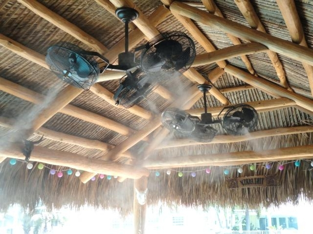 2018 Outdoor Ceiling Fan And Light The Mist Ceiling Fans Are Outdoor With Commercial Outdoor Ceiling Fans (View 4 of 15)