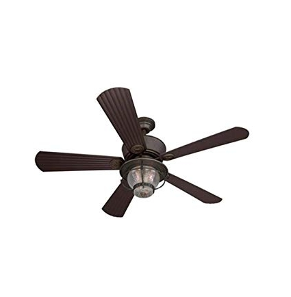 2018 Outdoor Ceiling Fans With Downrod For Merrimack 52 In Antique Bronze Downrod Mount Indoor/outdoor Ceiling (View 6 of 15)
