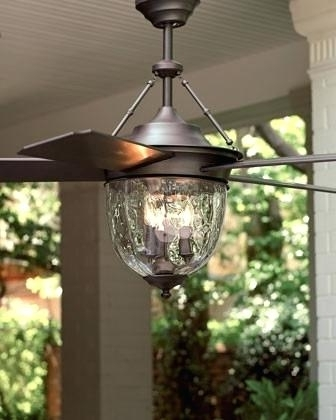 2018 Outdoor Ceiling Fans With Lights Wet Rated Bronze Outdoor Ceiling Regarding Wet Rated Outdoor Ceiling Fans With Light (View 1 of 15)