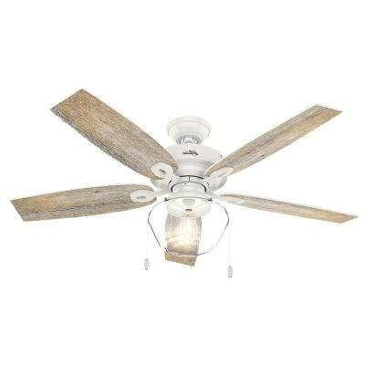 2018 Rustic Outdoor Ceiling Fans Pertaining To Rustic – Outdoor – Ceiling Fans – Lighting – The Home Depot (View 1 of 15)