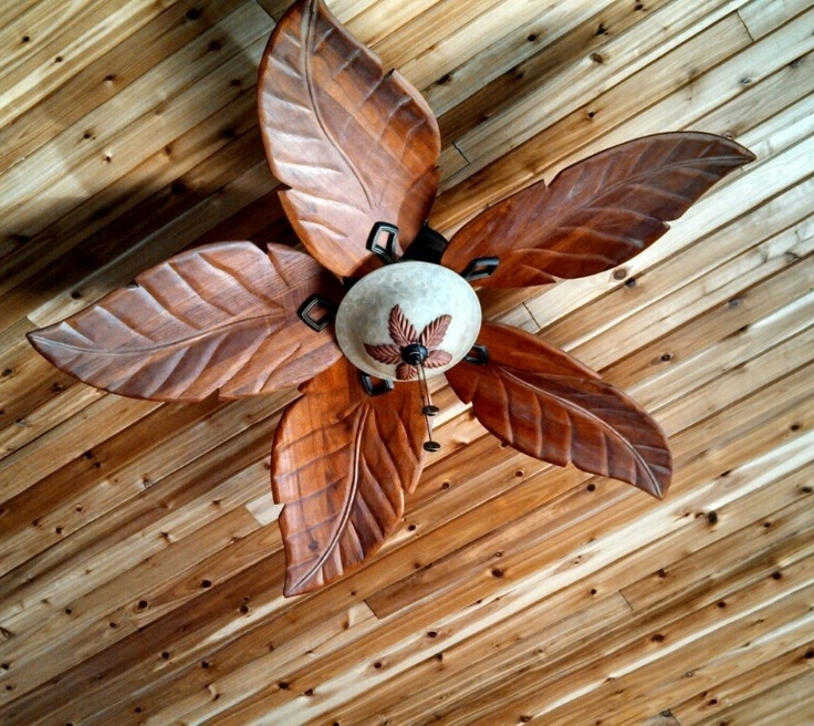 28 Palm Leaf Ceiling Fan, Tropical Style Indoor Outdoor Ceiling Fan Throughout 2018 Outdoor Ceiling Fans With Leaf Blades (View 2 of 15)