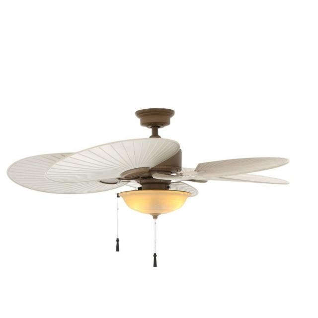 48 Outdoor Ceiling Fans With Light Kit Pertaining To Well Liked Hampton Bay Havana 48 In (View 4 of 15)