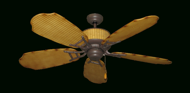 "52"" Cabana Breeze Indoor Outdoor Ceiling Fan In Cobblestone (View 2 of 15)"