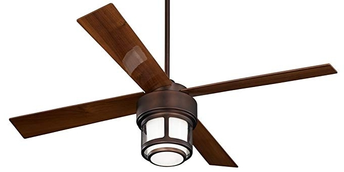 "52"" Casa Vieja Tercel Oil Brushed Bronze Outdoor Ceiling Fan Regarding Fashionable Casa Vieja Outdoor Ceiling Fans (Gallery 5 of 15)"