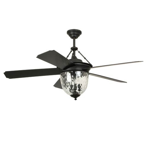 52 Inch Outdoor Ceiling Fans With Lights Intended For Well Known Craftmade Cavalier Aged Bronze Brushed 52 Inch Outdoor Ceiling Fan (Gallery 6 of 15)