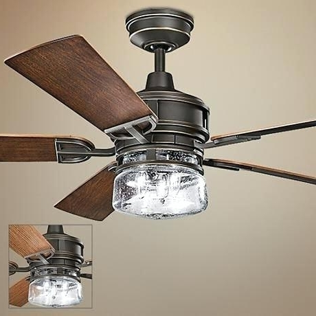60 Inch Outdoor Ceiling Fans With Lights For Most Popular 60 Inch Ceiling Fan With Light Patio Bronze Outdoor Ceiling Fan (Gallery 11 of 15)