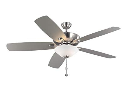60 Inch Outdoor Ceiling Fans With Lights Within Preferred Monte Carlo 5Csm60Bsd Colony Super Max Plus Outdoor Ceiling Fan With (Gallery 7 of 15)