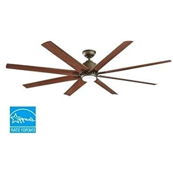 "72"" Predator Bronze Outdoor Ceiling Fan With Light Kit – – Amazon Within Newest 72 Predator Bronze Outdoor Ceiling Fans With Light Kit (View 5 of 15)"