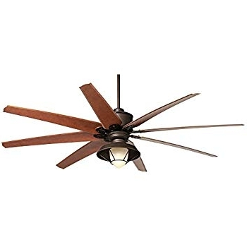 Featured Photo of 72 Predator Bronze Outdoor Ceiling Fans With Light Kit