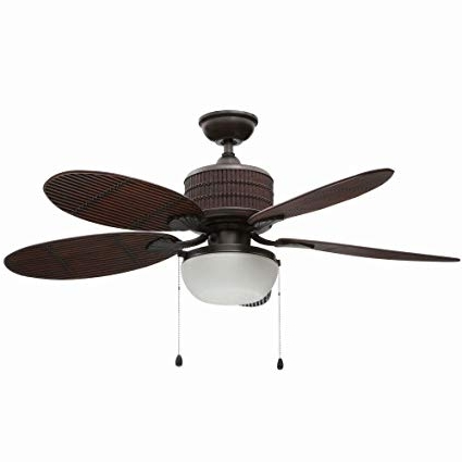 Bamboo Outdoor Ceiling Fans In Popular Home Decorators Collection Tahiti Breeze 52 In (View 3 of 15)
