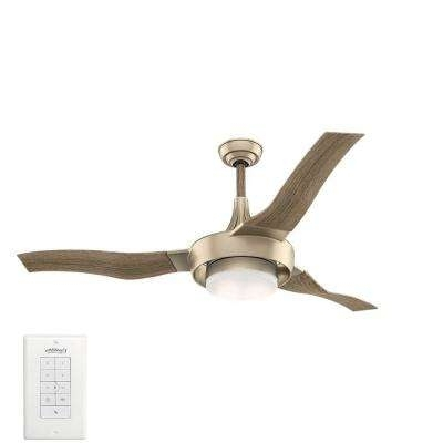 Best And Newest Gold Coast Outdoor Ceiling Fans Pertaining To Coastal – Gold – Ceiling Fans With Lights – Ceiling Fans – The Home (View 2 of 15)