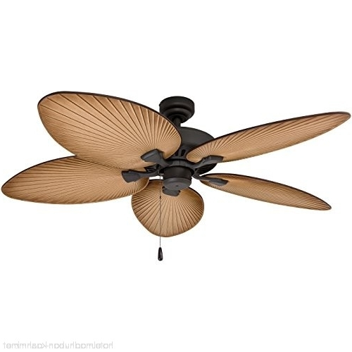 Best And Newest Prominence Home 80013 01 Palm Island Tropical Ceiling Fan Palm Leaf Inside Outdoor Ceiling Fans With Leaf Blades (View 4 of 15)