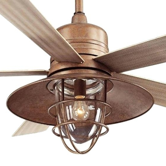 Best And Newest Rustic Outdoor Ceiling Fans Pertaining To Rustic Outdoor Ceiling Fans Door Ceilg Tended Style Looking Fan (View 15 of 15)