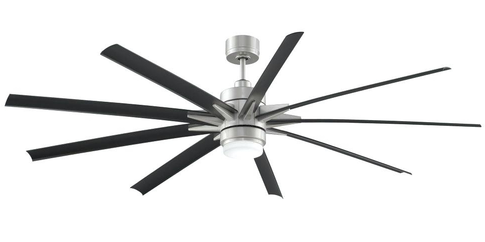 Best Outdoor Ceiling Fans Large Size Of Wet Ceiling Fans Outdoor For Most Recent Large Outdoor Ceiling Fans With Lights (View 8 of 15)