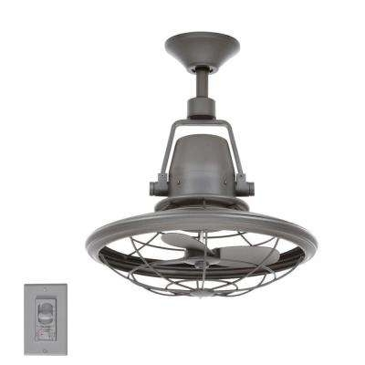 Black – Outdoor – Ceiling Fans – Lighting – The Home Depot Regarding Well Known Black Outdoor Ceiling Fans With Light (View 14 of 15)