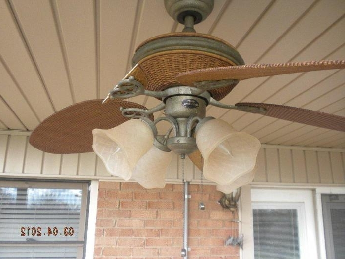 Broken Blades For Latest Outdoor Ceiling Fan With Brake (View 2 of 15)