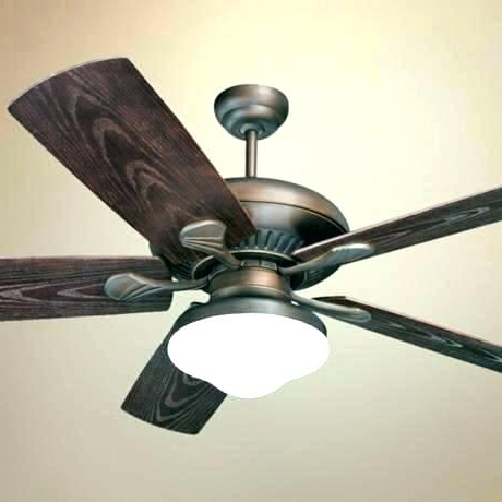 Bronze Outdoor Ceiling Fans With Light With Recent Bronze Ceiling Fan With Light Best Contemporary Ceiling Fans Bendlin (View 7 of 15)