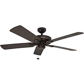 Bronze Outdoor Ceiling Fans Within Widely Used Amazon: Honeywell Belmar 52 Inch Indoor/outdoor Ceiling Fan (View 14 of 15)