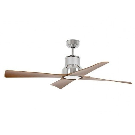 Brown Outdoor Ceiling Fan With Light In Well Known Large Ip 44 Outdoor Ceiling Fan With Led Light, Blades Brown /basalt (View 5 of 15)