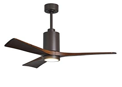 "Brown Outdoor Ceiling Fan With Light Regarding Most Popular Matthews Outdoor Ceiling Fan Brown Pa3 Tb 52 Patricia 52"" With Light (View 6 of 15)"