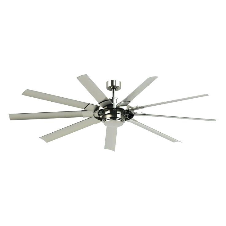 Brushed Nickel Outdoor Ceiling Fans With Light For Newest Outdoor Ceiling Fans With Lights And Remote – Lighting Blog Ideas (View 15 of 15)
