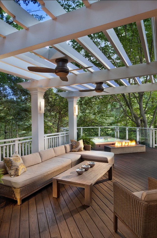 Cape Cod Renovation Ideas (home Bunch – An Interior Design & Luxury With Regard To Well Known Outdoor Ceiling Fans Under Pergola (Gallery 1 of 15)