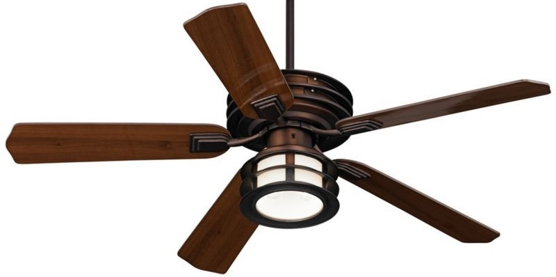 "Casa Vieja Mission Ii Outdoor Ceiling Fan – 52"" Bronze – Euro Style Intended For Well Liked Mission Style Outdoor Ceiling Fans With Lights (View 5 of 15)"