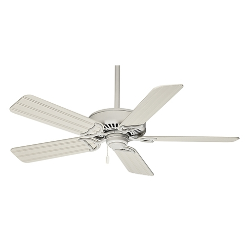 Casablanca Fans Panama® Pull Chain Cottage White Energy Star Outdoor Within Trendy Outdoor Ceiling Fans With Pull Chain (View 2 of 15)