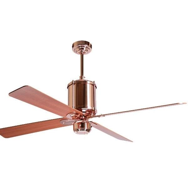 Ceiling Fan: Elegant Copper Ceiling Fan With Light Flush Mount Regarding Favorite Copper Outdoor Ceiling Fans (View 2 of 15)