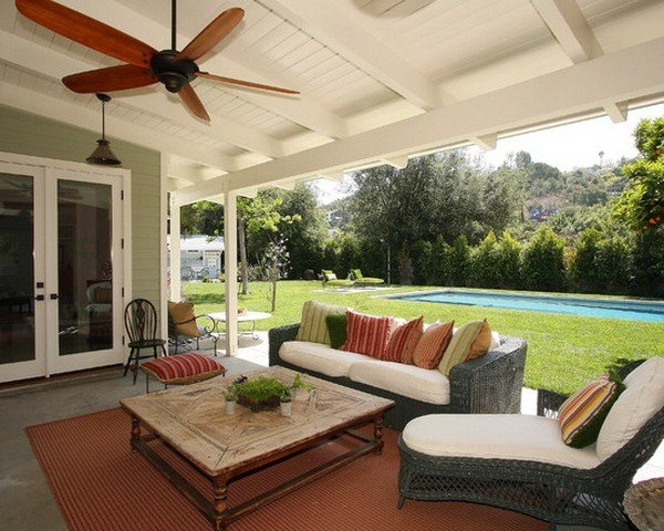 Collection In Outdoor Patio Ceiling Ideas Outdoor Patio Ceiling Fans Pertaining To Most Popular Outdoor Ceiling Fans For Porch (View 9 of 15)