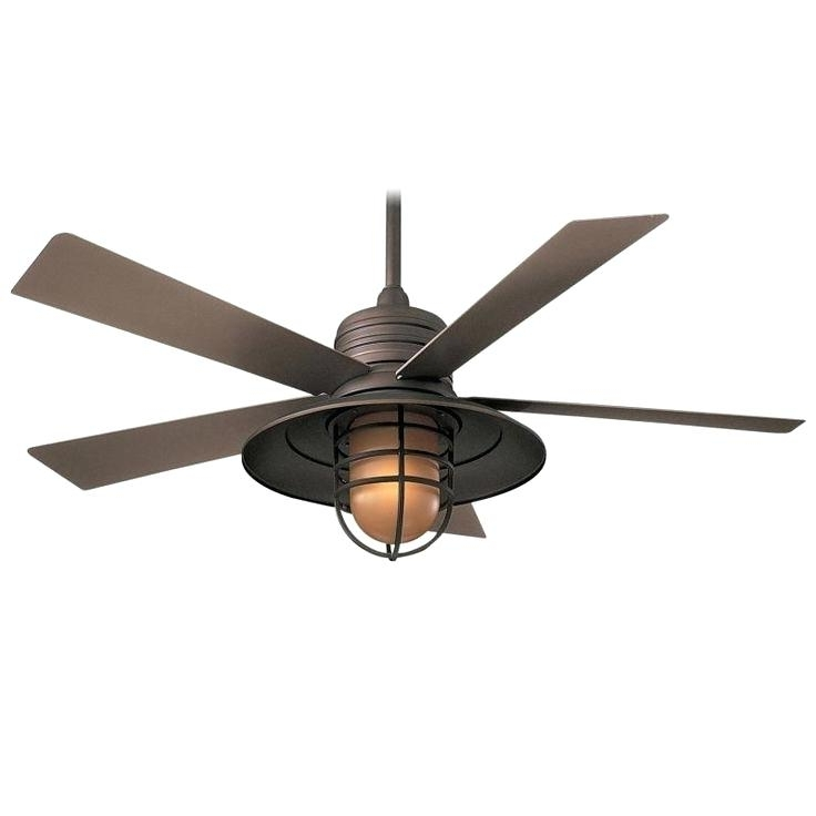 Commercial Outdoor Ceiling Fans Intended For Well Known Commercial Outdoor Ceiling Fans Ceiling Fan In Oil Rubbed Bronze (View 8 of 15)