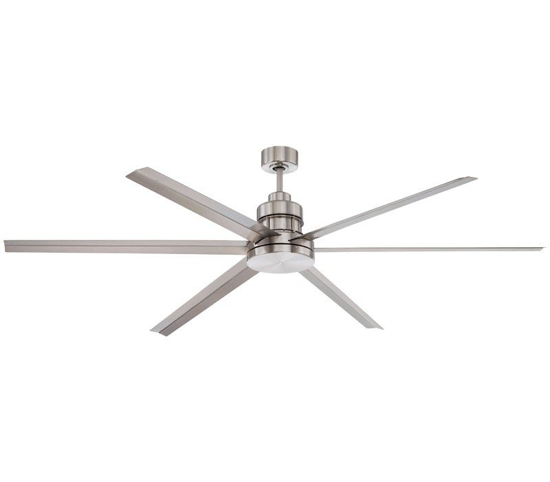 Craftmade Mnd72Bnk6, Mnd54Bnk3, Mnd54Esp3, Mnd72Esp6 Mondo 6 Blade Pertaining To Preferred 24 Inch Outdoor Ceiling Fans With Light (View 8 of 15)