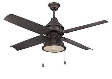 Craftmade Par52Esp4 Port Arbor, Espresso 52 Inch Outdoor 4 Blade In Best And Newest Craftmade Outdoor Ceiling Fans Craftmade (View 5 of 15)