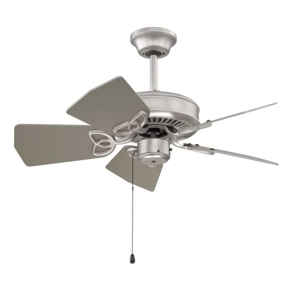 "Current Craftmade Outdoor Ceiling Fans Craftmade Within Shop Craftmade K10149 Piccolo 30"" 5 Blade Indoor / Outdoor Ceiling (View 7 of 15)"