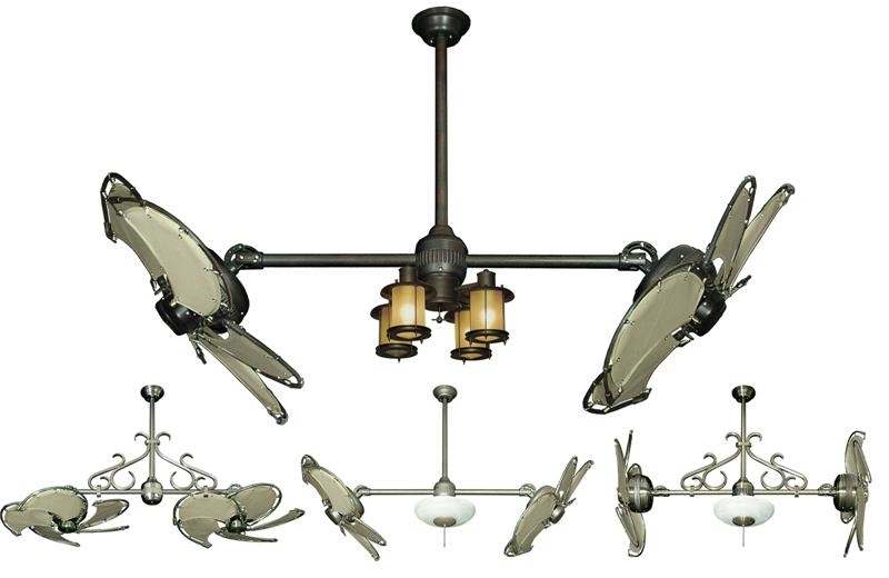 Current Double Ceiling Fans Tropical Fan Company Double Ceiling Fan With Regarding Dual Outdoor Ceiling Fans With Lights (View 1 of 15)