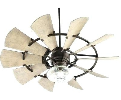 Current Outdoor Ceiling Fan Romantic Rustic Fans At Windmill Shades Of Light In High End Outdoor Ceiling Fans (View 9 of 15)
