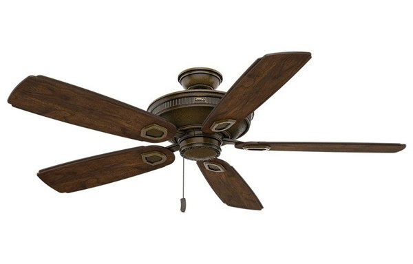 Current Outdoor Ceiling Fans With Pull Chain For Best Outdoor Ceiling Fans: Overall &location (View 4 of 15)