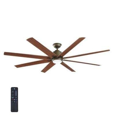 Current Outdoor Ceiling Fans With Remote And Light With Regard To Outdoor – Ceiling Fans With Lights – Ceiling Fans – The Home Depot (View 2 of 15)
