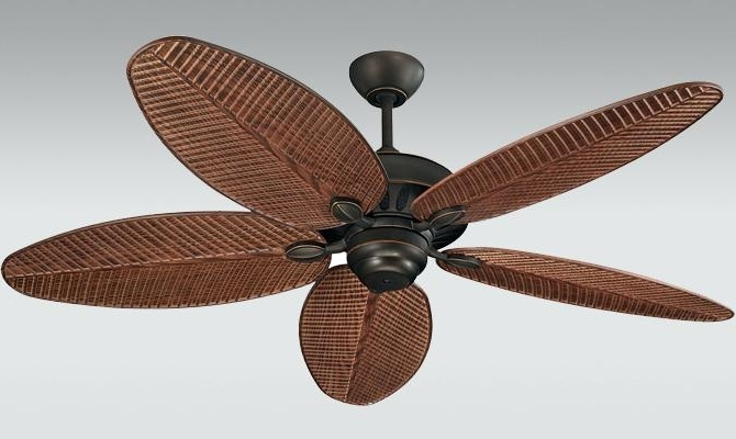 Current Palm Leaf Ceiling Fan Blades Harbor Breeze With Brilliant Fans With Regard To Leaf Blades Outdoor Ceiling Fans (View 11 of 15)