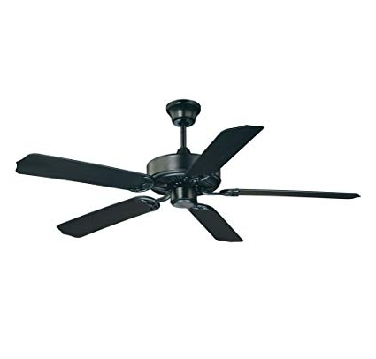 "Current Savoy House Nomad 52"" Outdoor Ceiling Fan In Flat Black 52 Eof 5mb With Regard To Heavy Duty Outdoor Ceiling Fans (View 13 of 15)"