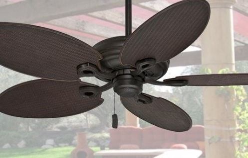 Damp Rated Outdoor Ceiling Fans Intended For Most Recent Outdoor Ceiling Fans Choose Wet Rated Or Damp Rated For Your Space (View 2 of 15)