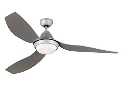 "Efficient Outdoor Ceiling Fans With Regard To Favorite Monte Carlo Avvo 3Avor56Gryd Grey 56"" Indoor/outdoor, Energy (View 5 of 15)"