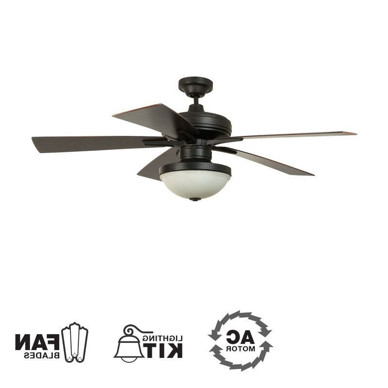 "Ellington Fans Riverfront 52"" 5 Blade Outdoor Ceiling Fan – Blades Throughout Most Recent Ellington Outdoor Ceiling Fans (View 12 of 15)"