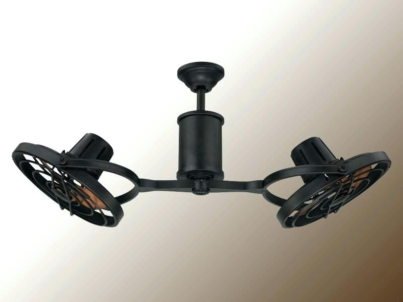 Enclosed Outdoor Ceiling Fans In Most Popular Double Ceiling Fans With Lights For Double Enclosed Ceiling Fan How (Gallery 8 of 15)