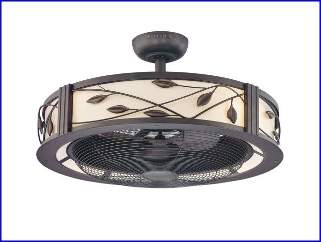 Enclosed Outdoor Ceiling Fans With Most Current Enclosed Ceiling Fan With Light Amazing Kitchen Ceiling Lights (Gallery 5 of 15)